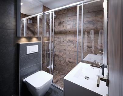 Bathroom reconstruction B.1