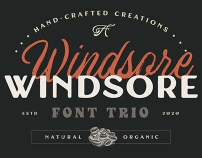 Windsore Font Trio