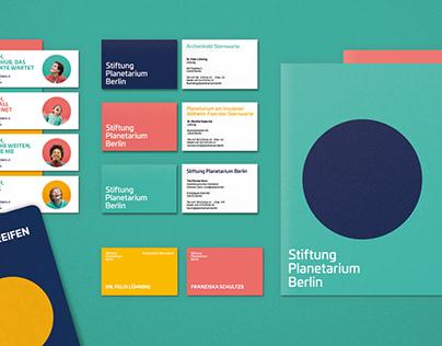 Corporate Design | Stiftung Planetarium Berlin