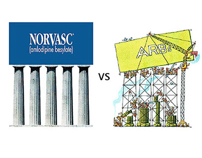 Norvasc vs ARBs Brochure