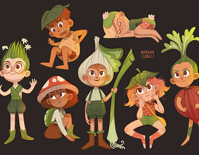 Miscellaneous Character Design