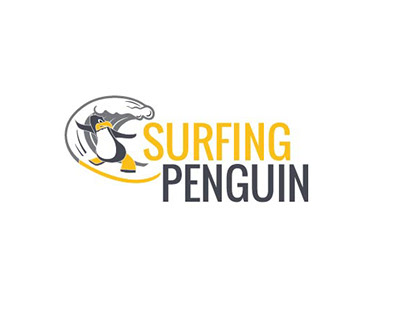 Surfing Penguin
