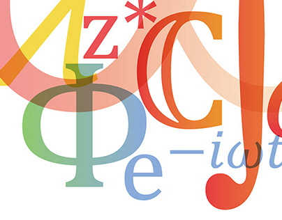Typographic illustration for Cambridge Assessment