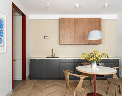 63 sq meters apartment