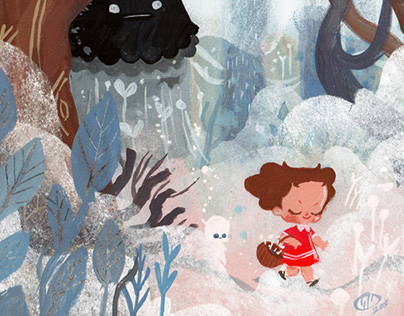 """Concept Art for Picture Book """"The Truth about Monsters"""""""