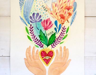 Dona Ama Crea - Le Mani specchio dell'Anima