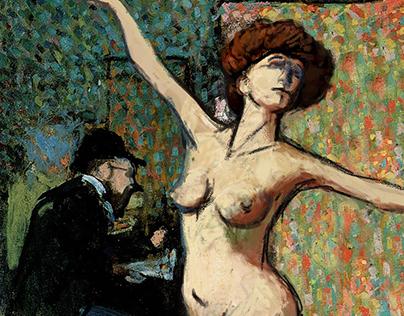 MUDIA Marquet interactive painting
