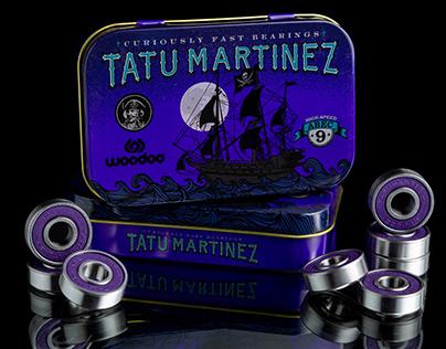 TATU MARTINEZ SKATE BEARINGS