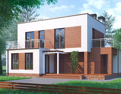 2-Storey House in Belgorod, Russia