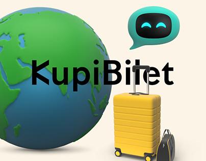 KupiBilet 3D Illustrations