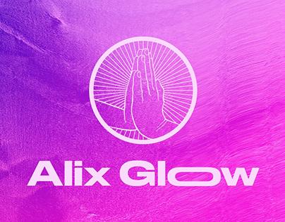 Alix Glow Visual Identity