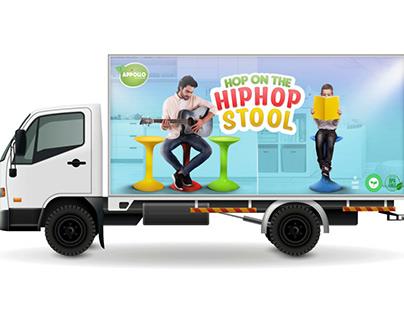 Appollo Housewares - Truck Branding