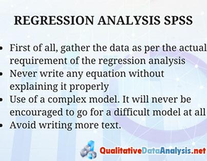 Regression Analysis Help