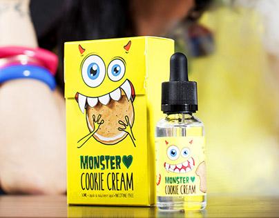 Monster Cookie Cream / Packaging