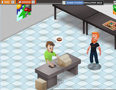 Game Studio Simulator 2015 (game jam)