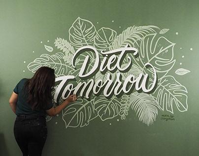 Diet Tomorrow Mural
