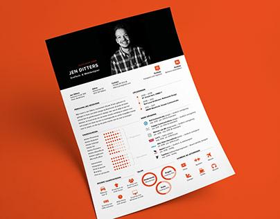 Resume / Curriculum Vitae (CV)