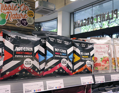 Not.Corn: Superfood Snack | Packaging