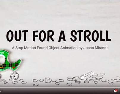 Paper Dolls - Stop Motion Animation #2 Out for a Stroll