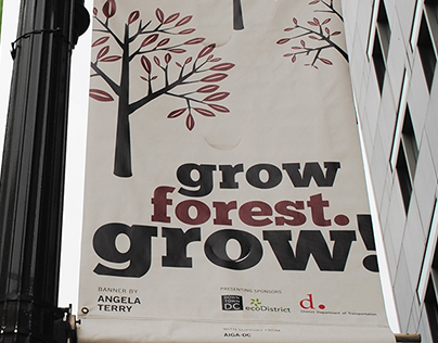 The Urban Forest Project: DC Banner