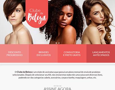 Landing Page - Clube da Beleza