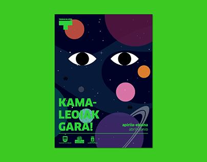 Kamaleoiak gara! (abril-junio)