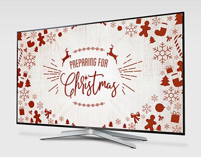 """Preparing For Christmas"" Message Artwork - Anchorpoint"