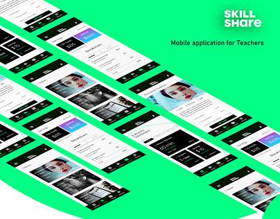 Skillshare Teacher's App