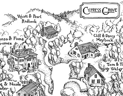Cypress Grove Map