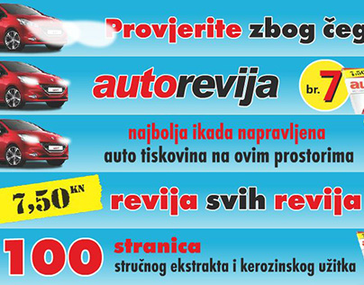 "Flash Banner for Magazine ""Autorevija"""
