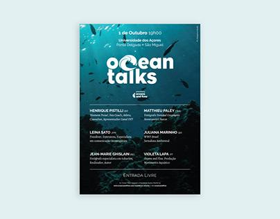 'Ocean Talks' poster
