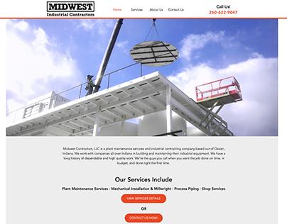 Midwest Industrial Contractors Website