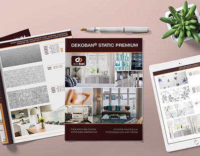 Wizualizacje i projekt katalogu Dekoban