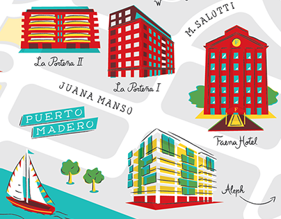 Faena Buenos Aires Map