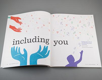 Swarthmore College Editorial Illustrations