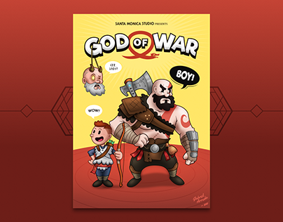 God of War • A new cartoony beginning! | Updated