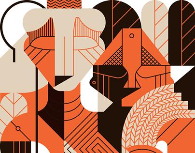 Elementi Magazine 2 – illustrations