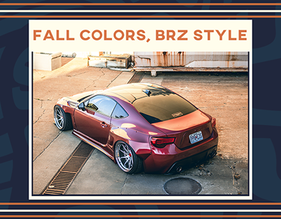 Fall Colors, BRZ Style