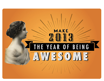 The Year of Being Awesome