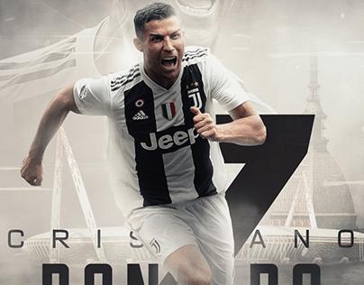 """Cristiano Ronaldo - Juventus"" Poster"