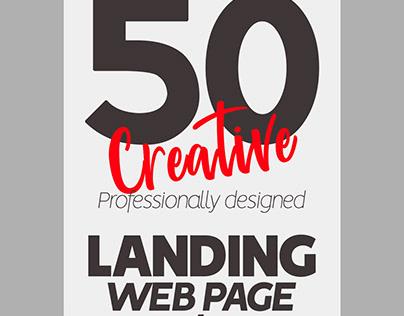 50 Landing Page Designs