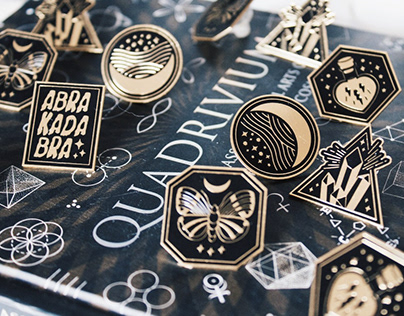 Mercurio Retro - Enamel Pin