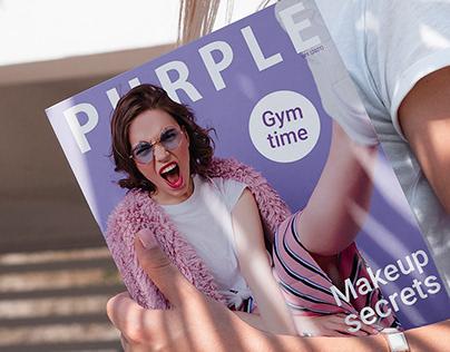 Magazin Purple