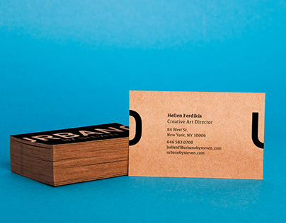 Business Card Design | Urbano By Steven