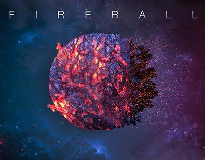 Galaxy Fireball - Cinema 4D