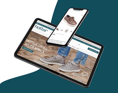 Hotter (eCommerce Website Design & Development)