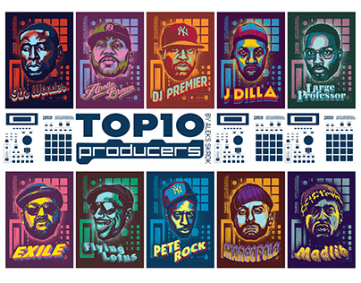 TOP 10 PRODUCERS 2018