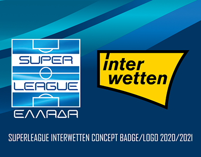 Superleague Greece Interwetten Concept Logo