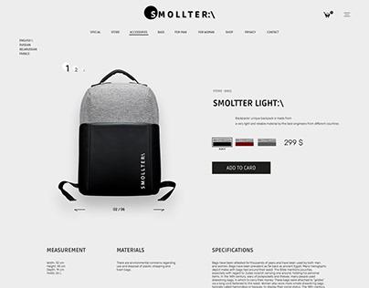 """""""S M O L L T E R:\"""" Online store"""
