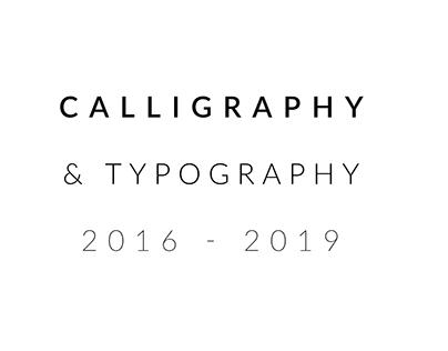 CALLIGRAPHY & TYPOGRAPHY I